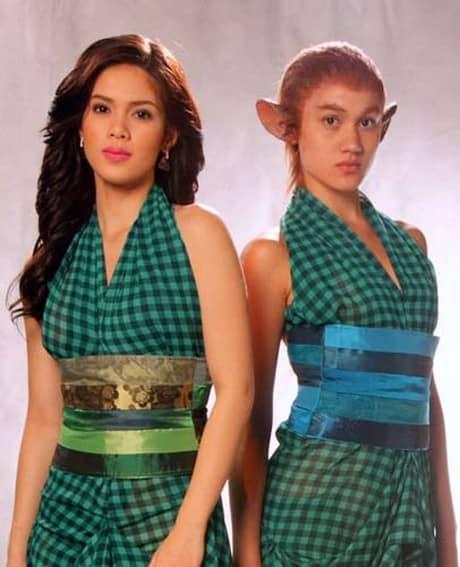 Shaina Magdayao and Melissa Ricks in Kambal sa Uma (2009)