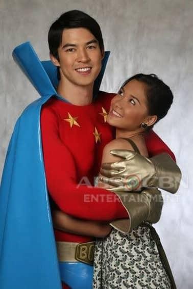 Jon Avila and Maja Salvador in Kapitan Boom (2008)