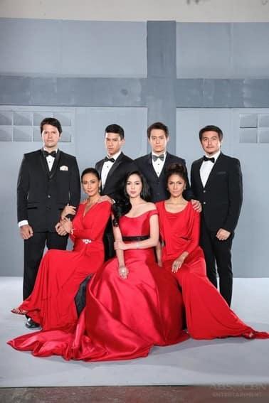 The lead stars of Muling Buksan Ang Puso (2013)