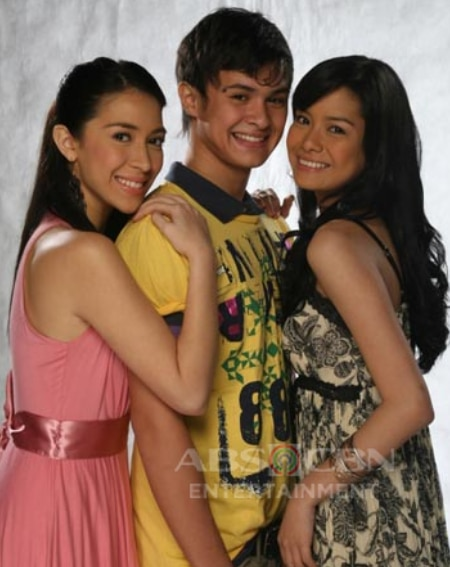 Carla Humphries, Matteo Guidicelli, and Erich Gonzales in Ligaw Na Bulaklak (2008)