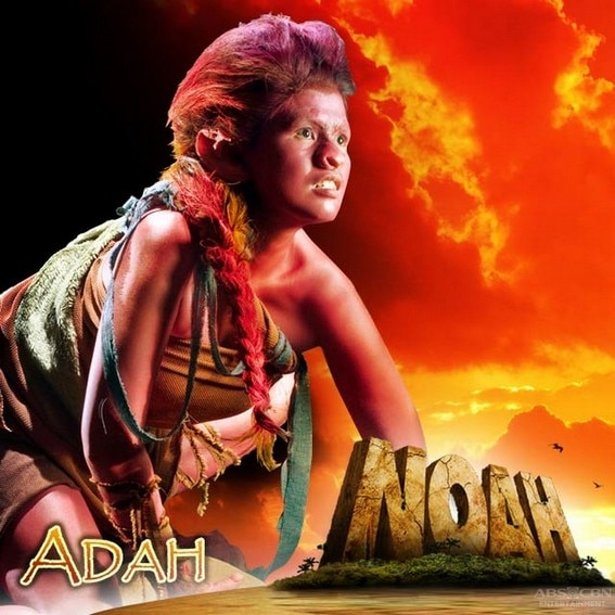 Ana Capri as Adah in Noah (2010)