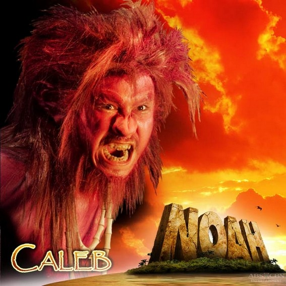 Baron Geisler as Caleb in Noah (2010)