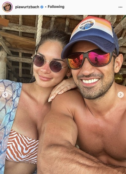 Pia Wurtzbach's sweet moments with her boyfriend Jeremy Jauncey