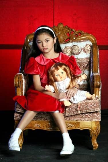 Celine Lim as Karen in Patayin sa Sindak si Barbara (2008)