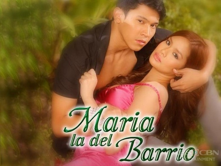 Erich Gonzales and Enchong Dee in Maria La Del Barrio (2011)