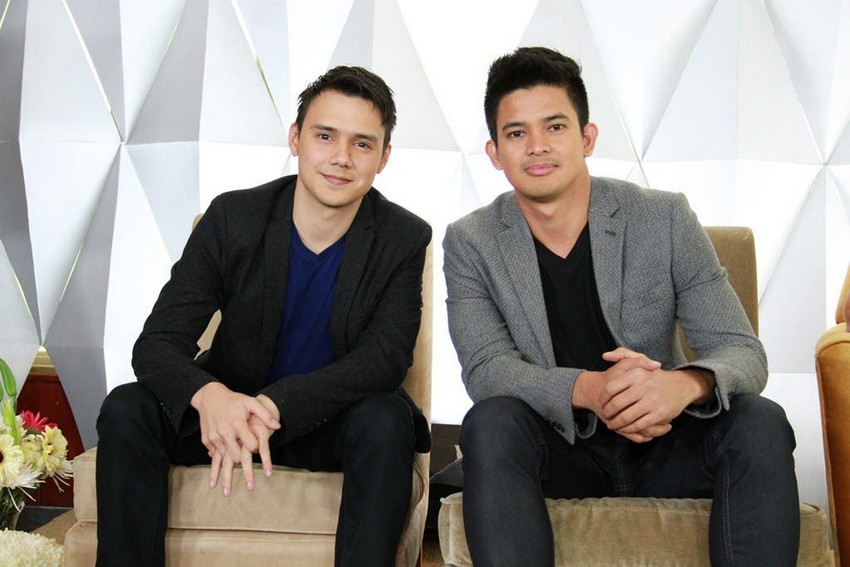 Patrick Garcia and Rayver Cruz in Two Wives (2014)