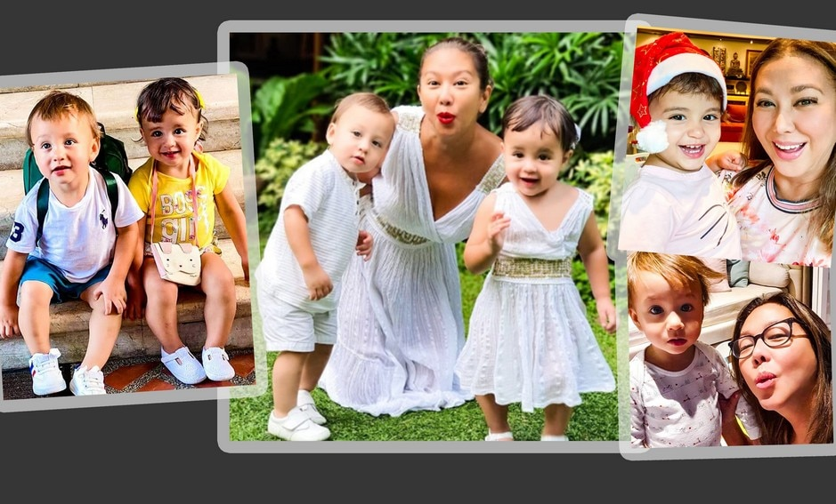 IN PHOTOS: Take a look at Korina Sanchez' treasured moments with her adorable kids Pepe and Pilar!