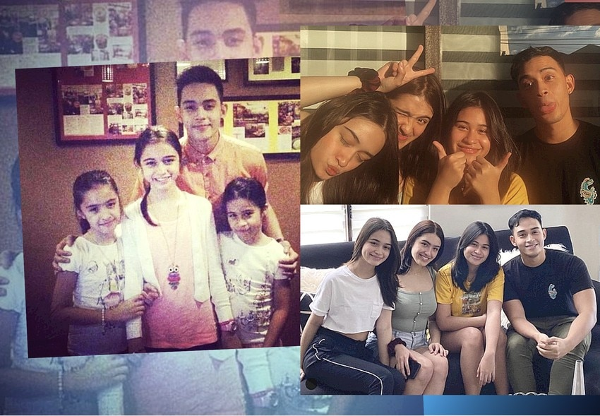 LOOK: 19 Photos of Diego Loyzaga's precious sibling moments with his sisters!