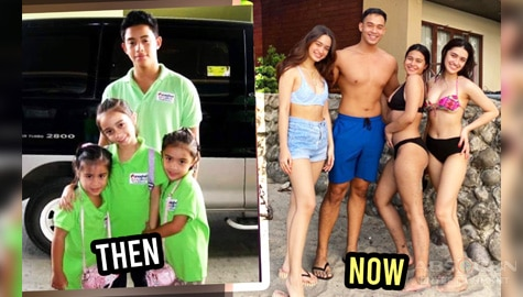 IN PHOTOS: Diego Loyzaga's sibling love for Sam, Angelina and Francheska