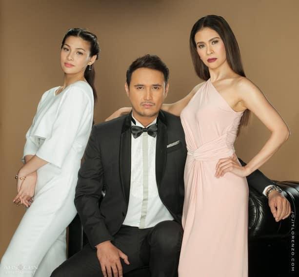 John Estrada, Gelli de Belen and Maika Rivera in Magpahanggang Wakas (2016)