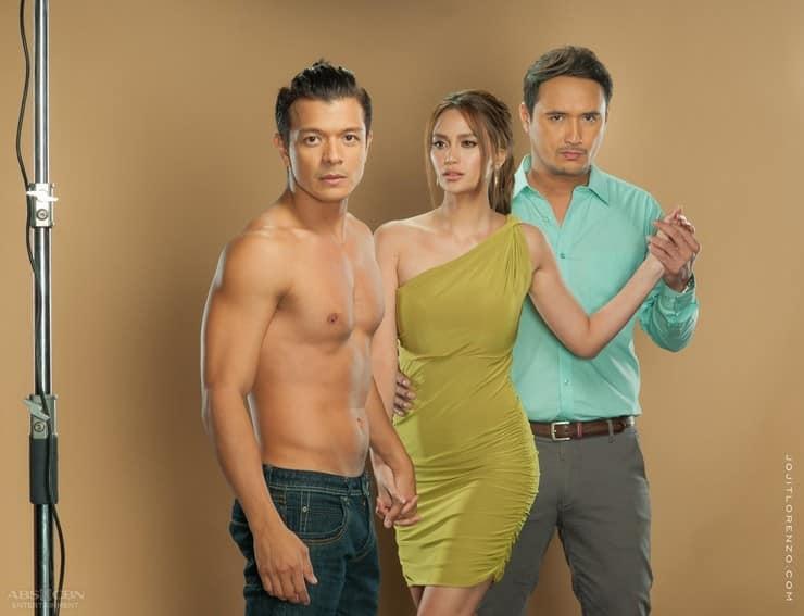 Jericho Rosales, Arci Munoz and John Estrada in Magpahanggang Wakas (2016)