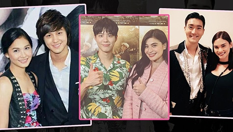 IN PHOTOS: Kapamilya stars with famous Korean celebrities!