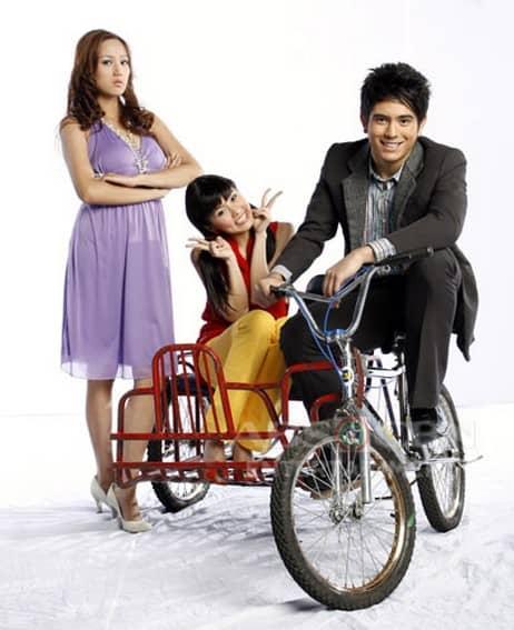Kim Chiu, Gerald Anderson and Nina Jose in My Girl (2008)