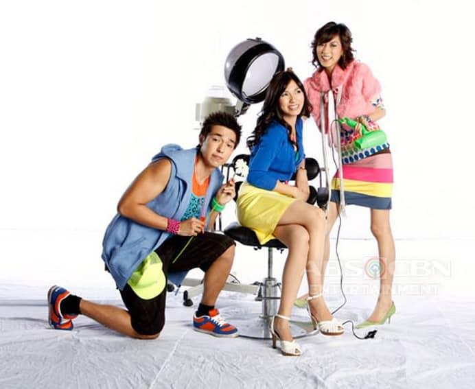 Alex Gonzaga, Regine Angeles and David Chua in My Girl (2008)