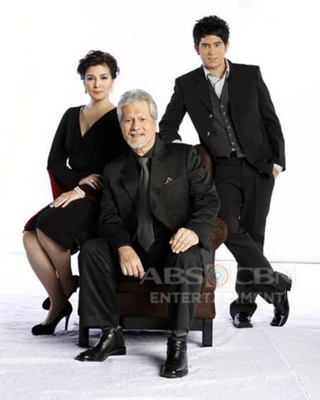 Gerald Anderson with Bing Loyzaga and Ronaldo Valdez in My Girl (2008)
