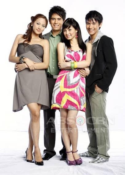 Niña Jose, Gerald Anderson, Kim Chiu, and Enchong Dee in My Girl (2008)