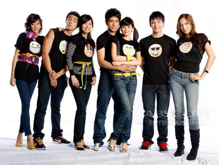 The cast of My Girl (2008)