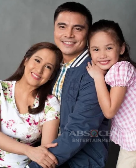 Jolina Magdangal and Marvin Agustin with Ashley Sarmiento in Flordeliza (2015)