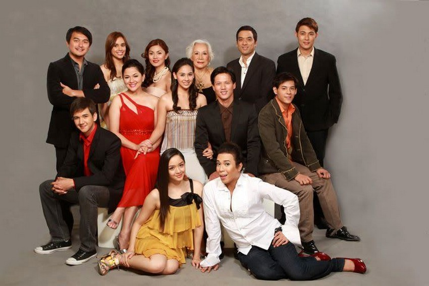 The cast of Rosalka (2010)