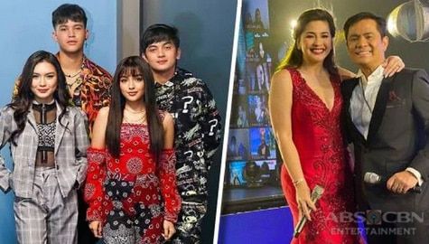 "PHOTOS: Kapamilya stars assemble for dazzling, all-out performances at the star-studded ""Ikaw Ang Liwanag at Ligaya"" ABS-CBN Christmas Special"
