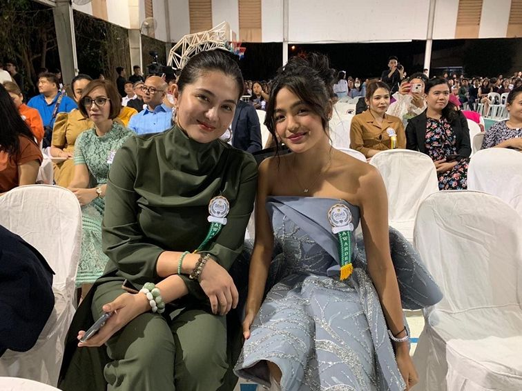 Dimples Romana and Andrea Brillantes at the 4th GEMS Awards