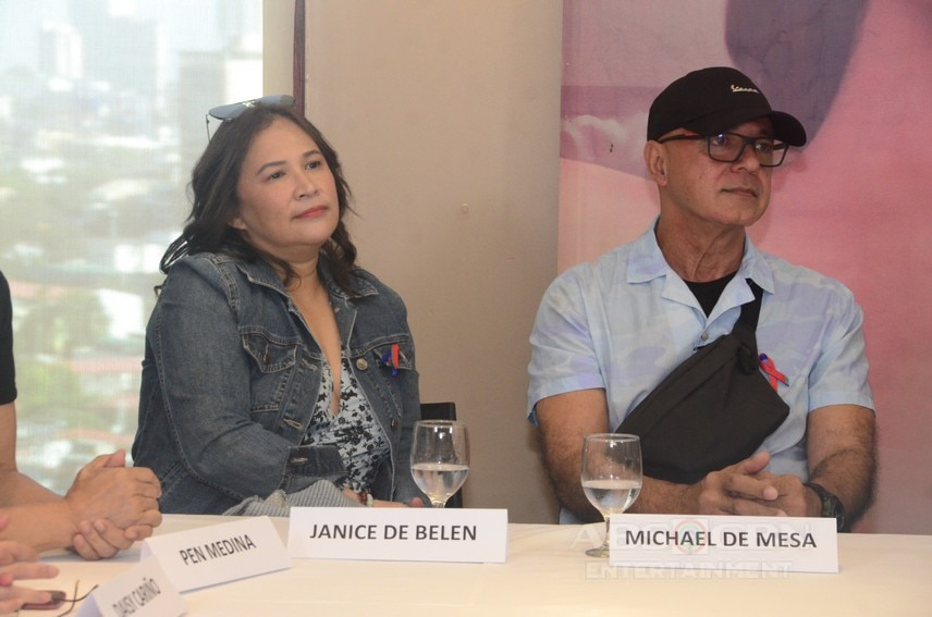 The stars of the newest sexy drama Ang Lihim ni Ligaya