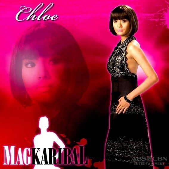 Erich Gonzales as Chloe in Magkaribal (2010)