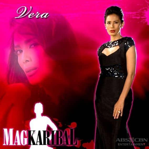 Angel Aquino as Vera in Magkaribal (2010)