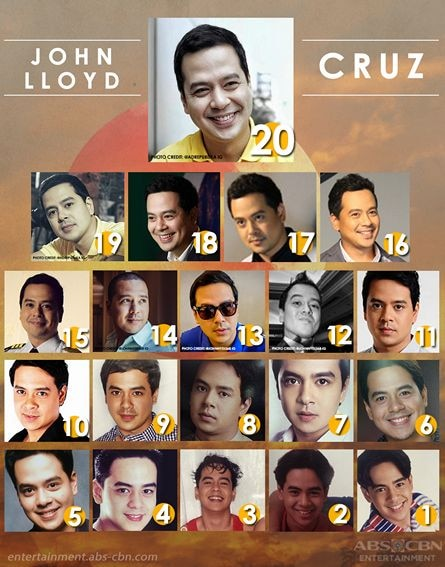 John Lloyd Cruz through the years