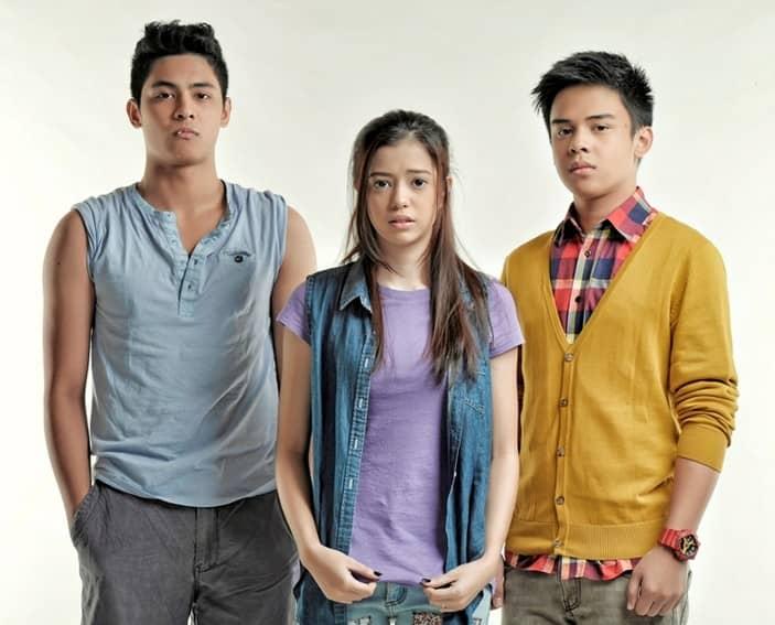 Sue Ramirez, Kiko Estrada and Khalil Ramos in Annaliza (2013)