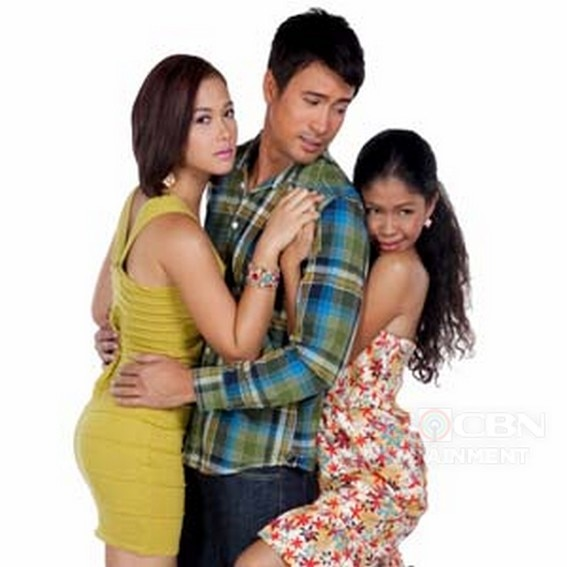 Maja Salvador, Sam Milby and Melai Cantiveros in PHR Presents Impostor (2010)