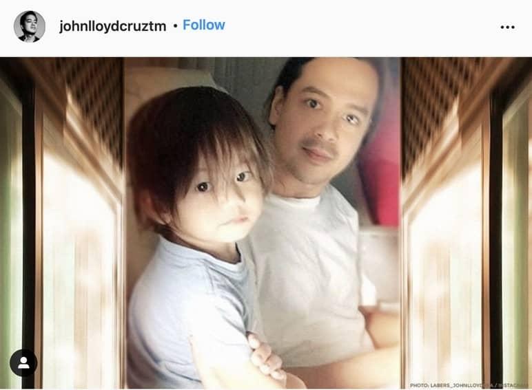 12 Photos of John Lloyd Cruz and his son Elias