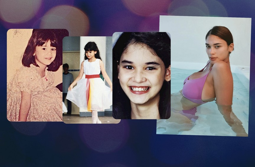 Pia Wurtzbach's natural beauty in these throwback photos