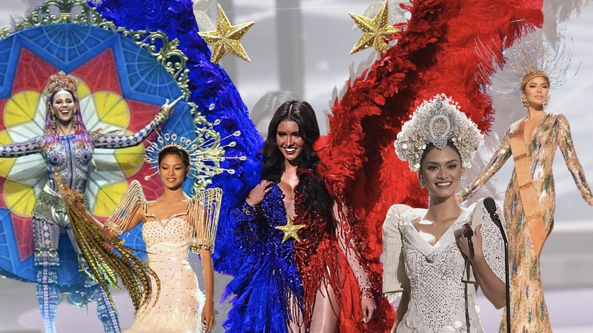 National Costumes of PH delegates at the Miss Universe pageant