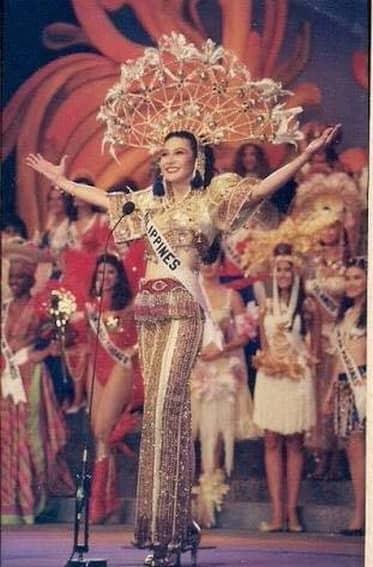 Charlene Gonzales' National Costume