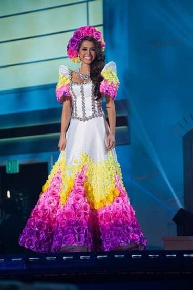 Mary Jean Lastimosa's National Costume