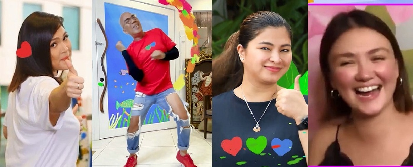 """JUDY ANN, BOY, ANGEL AND ANGELICA SHINE BRIGHT IN ABS-CBN'S """"FEEL GOOD PILIPINAS"""" SPECIAL ID"""