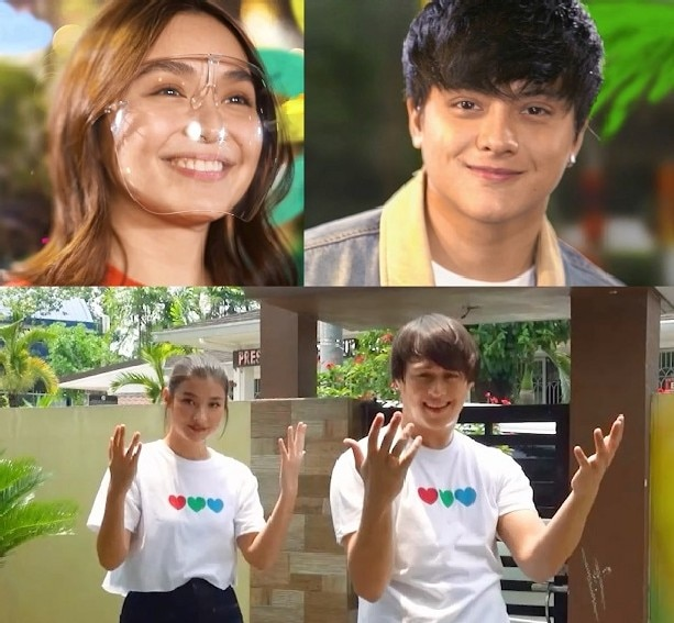 """KATHNIEL AND LIZQUEN SHINE BRIGHT IN ABS-CBN'S """"FEEL GOOD PILIPINAS"""" SPECIAL ID"""