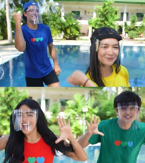 """SETHDREA AND KYCINE SHINE BRIGHT IN ABS-CBN'S """"FEEL GOOD PILIPINAS"""" SPECIAL ID"""