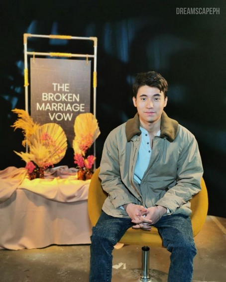 Brent Manalo as Migs Ilustre in The Broken Marriage Vow