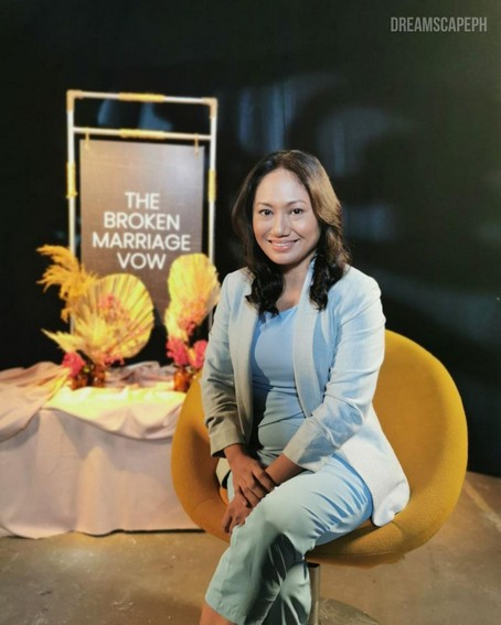 Angeli Bayani as Dr. Sandy Alipio in The Broken Marriage Vow