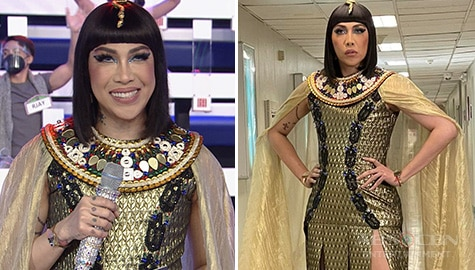 IN PHOTOS: Vice Ganda as Cleopatra on Everybody Sing
