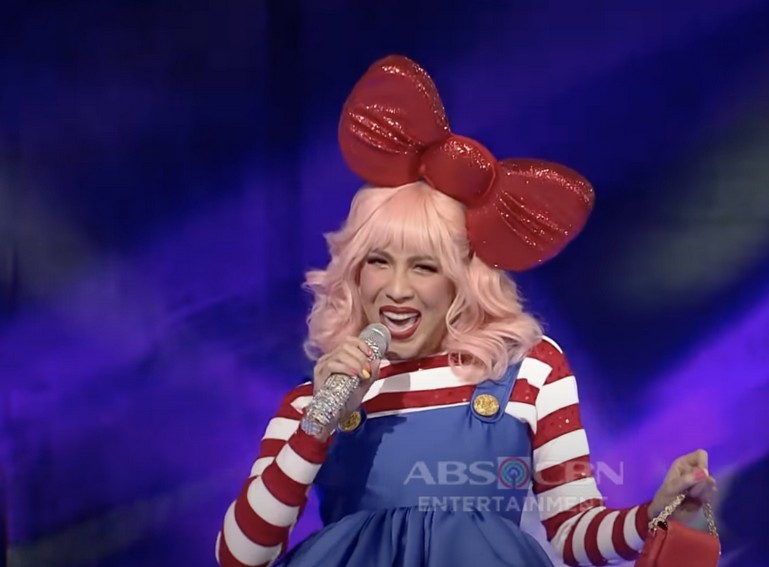 Vice Ganda dressed up as Hello Kitty