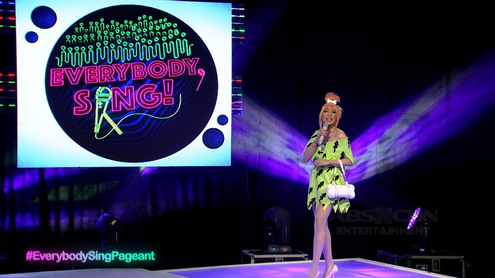 IN PHOTOS: Vice Ganda dressed up as Pebbles from The Flintstones on Everybody Sing