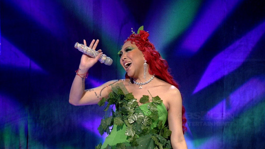 IN PHOTOS: Vice Ganda transforms into Poison Ivy on Everybody Sing