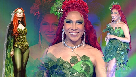 LOOK: Vice Ganda as Poison Ivy on Everybody Sing
