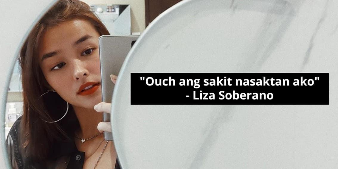 Liza Soberano clapback moments