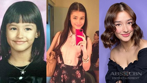 Then and now photos of Liza Soberano