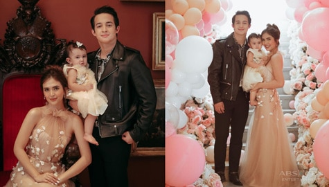 IN PHOTOS: Sofia Andres' daughter celebrates first birthday