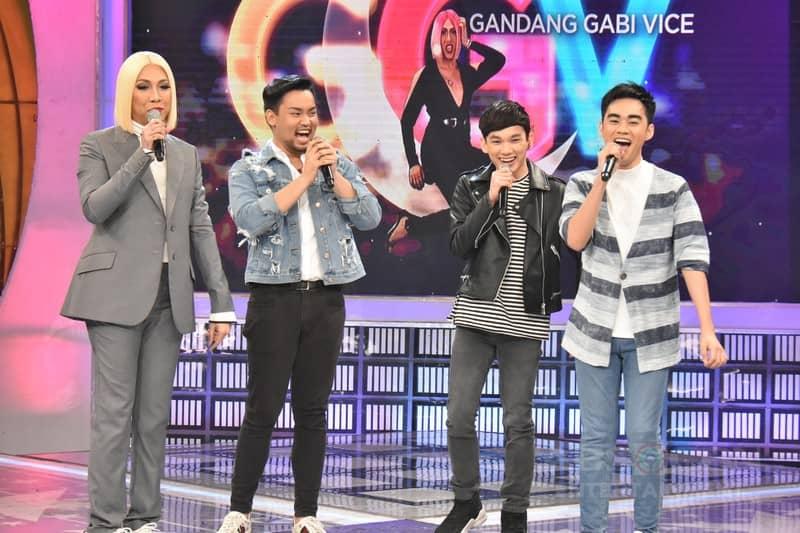PHOTOS: Lucas Garcia, Enzo Almario and Matty Juniosa on Gandang Gabi Vice